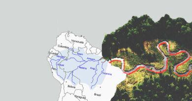 Какова протяженность Амазонки