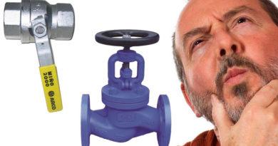 разница между краном и клапаном
