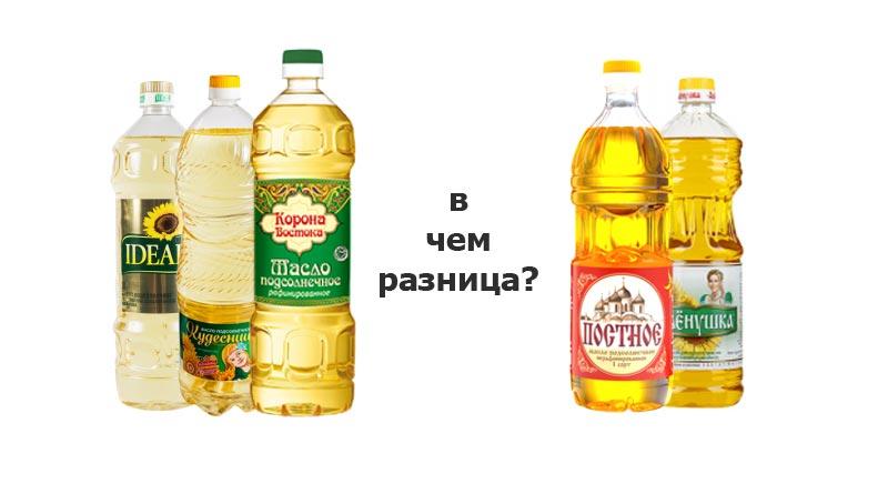 Чем отличается рафинированное масло от нерафинированного?