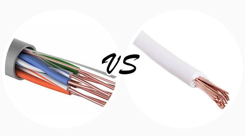 Провод и кабель - разница