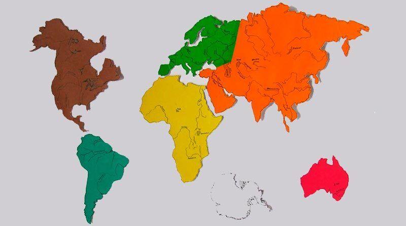 В чем разница между континентом и материком