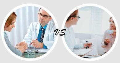 В чем разница между психиатром и психологом
